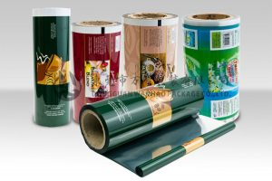 pl980370 laminated food packaging plastic roll film moisture barrier for tea